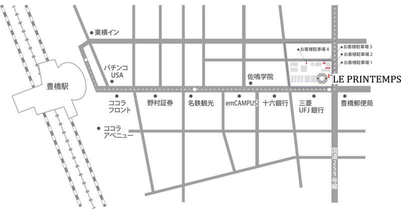 ルプランタン地図